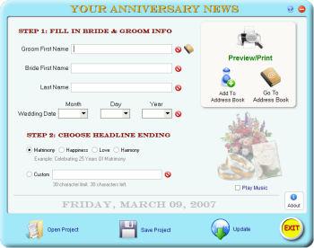 Your Anniversary News 2.0