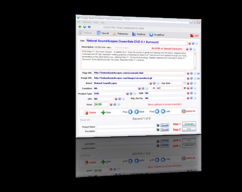 Google Product Feed Generator Pro screenshot