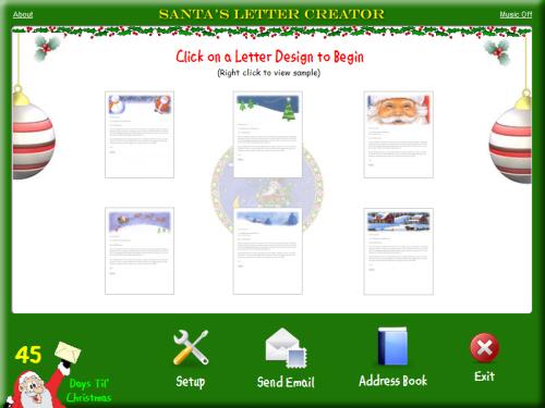 Santa's Letter Creator screenshot