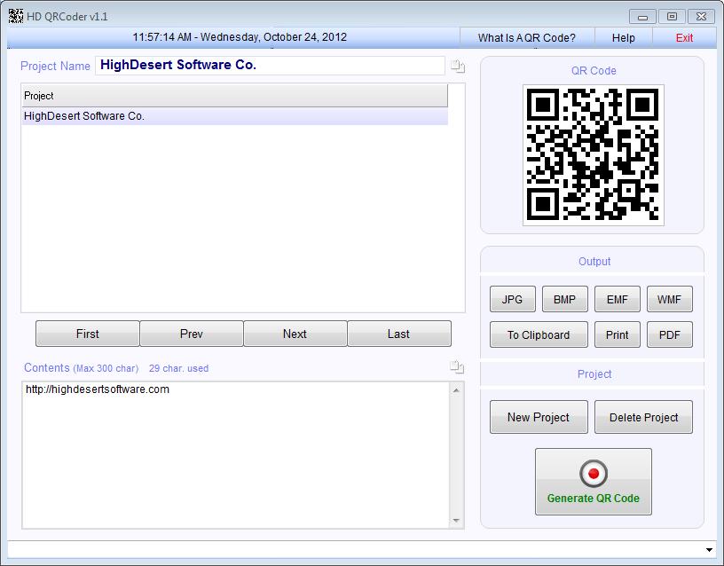 Free download HD QRCoder